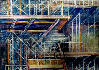 The Four Seasons Centre for the Performing Arts (Oil)