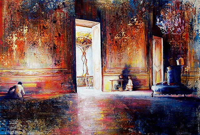 The Secret Room of Giuseppa Filangeri di S. Marco (Oils & Watercolours)